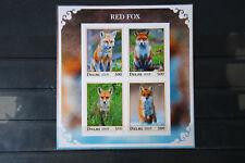 Waldtiere 03 forest animals wildlife Rotfuchs fox Fauna Natur postfrisch ** MNH