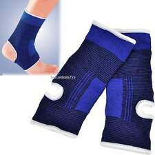 Ankle Foot Elastic Compression Wrap Sleeve Bandage Brace Support Protection AU