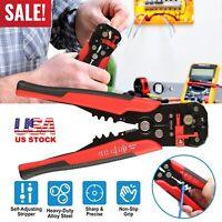 Automatic Insulation Wire Striper Cutter Stripper Crimper Pliers Terminal Tool