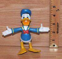 Walt Disney Soft PVC Bendable Donald Duck Collectible Mini Figurine *READ*