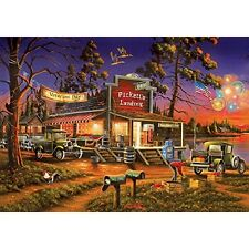 Buffalo Games Small Town Celebration Jigsaw Puzzle (500 Piece) NEW