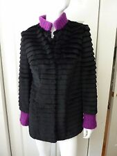 Andrew Marc x Richard Chai women's Lamb Fur shearling Coat Size:XS NEW