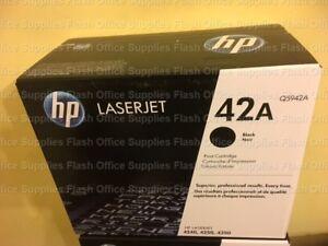 GENUINE HP 42A Q5942A 4250, 4350 TONER VAT INCLUDED SAMEDAY POST