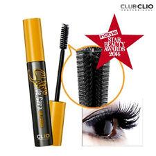 [CLIO] Salon de Cara Hair Brush BLACK Volume X Curling Waterproof Mascara 8ml