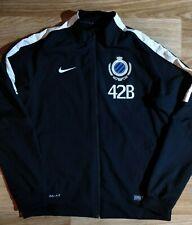 Nike Club Brugge KV Belgium Mens Track Jacket Football Soccer Sweatshirt Black