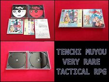 TENCHI MUYOU RPG COMPLET VERY RARE JAPANESE IMPORT PSX PS1 PS2 PLAYSTATION