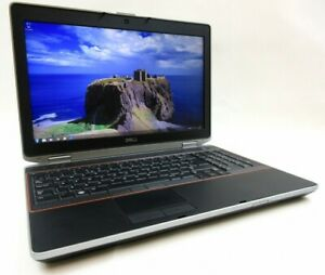 "Dell Latitude E6520 Intel i5 2520M 2x3,2GHz 85GB-RAM SSD 15,6""HD+ WEBCAM WINDOWS"
