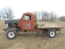 1946 Reo Speedwagan 3/4 ton 4x4 Chevrolet Rat Rod Flatbed V8 MONSTER MUDDER LOOK