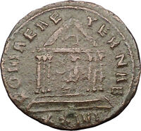 Probus 277AD Authentic Ancient Roman Coin Roma Temple i31654