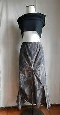 ZAPA Jupe Longue droite imprimé panthère léopard  polyester T 36 PARFAIT ETAT