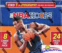 2019/20 Panini Hoops Basketball MASSIVE 24 Pack Sealed Retail Box-AUTO+192 Cards