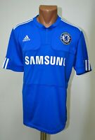 CHELSEA LONDON 2009/2010 HOME FOOTBALL SHIRT JERSEY ADIDAS SIZE M ADULT