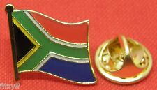 South Africa African Country Flag Lapel Hat Tie Cap Pin Badge Brooch