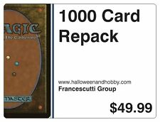 MAGIC THE GATHERING VALUE PACKAGE 1000 CARDS MTG MINT RANDOM LOT BOX BOOSTER