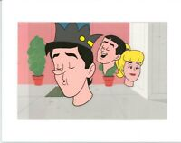 Archie Production Animation Art Cel Setup from Filmation 1968-1969 b2101