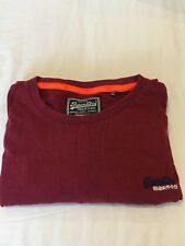 Mens Superdry T-shirt - Nearly New -  LARGE