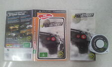 Need for Speed ProStreet Sony PSP Game Complete Version