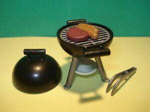 PLAYMOBIL 4279 BBQ GRILL MIT BURGER, GRILL, NEUZUSTAND