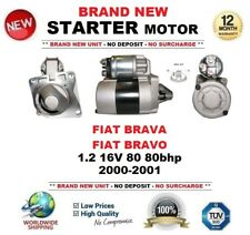 FOR FIAT BRAVA BRAVO 1.2 16V 80 80bhp 2000-2001 NEW STARTER MOTOR 0.9kW 8 Teeth