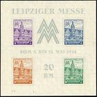 SBZ, Block 5 a Y, postfrisch, II. Wahl, Befund Schulz, Mi. 230,-