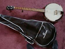 Banjo 5-String mit Gigbag