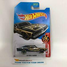 '69 Dodge Charger * Black Kmart Only * 2016 Hot Wheels * ZA16