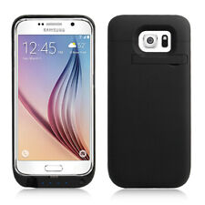 4200mAh External Power Pack Battery Charger Case Cover Samsung Galaxy S6