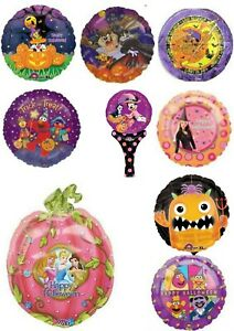 Film & TV Characters Halloween Foil Balloons Party Ware Decoration Helium Air