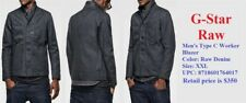 2018 Men's G-Star Raw Type C Worker Blazer Cavalry Denim Black XXL Jacket $350