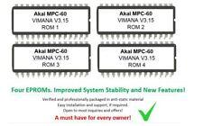 Akai mpc-60 os Vimana 3.15b os firmware Chips for muestreador drummachine mpc60