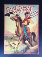 Ancien album à colorier Cow Boys Sirec Chaix TBE