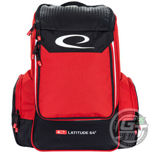 Latitude 64 CORE Small Backpack Disc Golf Bag Holds 15+ Discs  - PICK YOUR COLOR