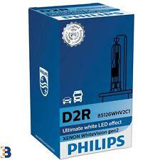 Philips D2R White Vision gen2 85V 35W HID Xenon Ampoule avant 5000K (Single)