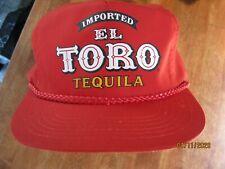 NWOT Vintage El Toro  Mexican Tequila HAT STRAPBACK
