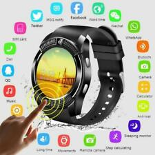 Bluetooth Smart Watch For Android iOS iPhone Samsung Phone Mate SIM Pedometer