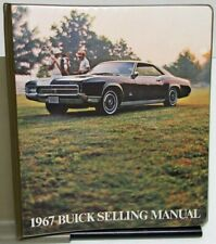 1967 Buick Dealer Data Book Album Sales Reference Riviera LeSabre GS Skylark