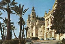 Monaco  -  Monte Carlo - Le Casino a travers les palmiers des terrasses
