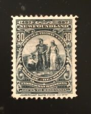 Stamps Canada Newfoundland Sc72 30c Colony Seal of 1897, Pl see description.