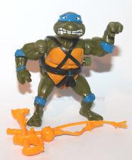 1990 TMNT Teenage Mutant Ninja Turtles Wacky Action Leo 100% Complete Figure