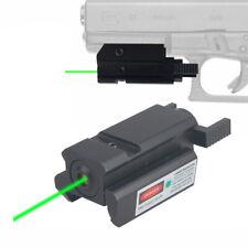 20mm Tactical Picatinny Weaver Rail Mount Gun Compact Red/Green Dot Laser Sight