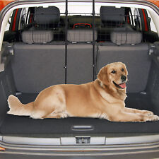 Expendable Pet Car Barrier Mesh Fence Safety Guard Gate Black