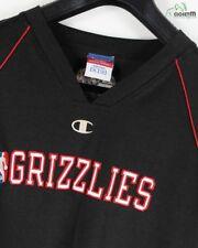 """CHAMPION noir épaule dénudée brodé """" GRIZZLIES """" NBA Team Jersey Taille XL"""