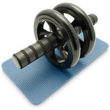 AB Roller Bauchtrainer Roller Bauchmuskeltrainer Bauchroller mit Fitnessmatte