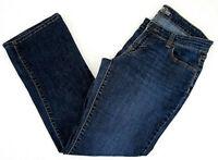 """OLD NAVY Size 6 Short Jeans Bootcut Denim Medium Wash DIVA 28"""" I EXCELLENT"""