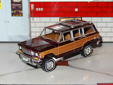 1963-1981 AMC JEEP GRAND WAGONEER 4X4 1/64 SCALE DIORAMA COLLECTIBLE MODEL W7