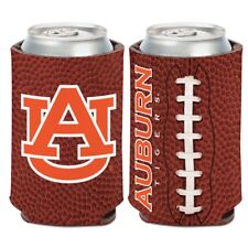 Auburn Tigers Wincraft NCAA Football 12oz Can Coolie FREE SHIP