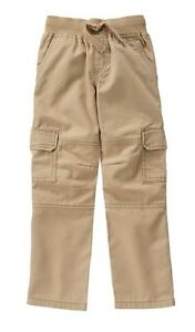 Gymboree Nwt All Spruced Up Tan Khaki Cargo Pants Boys Size 4
