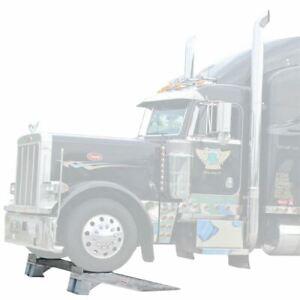 Semi-Truck & RV Heavy Duty 20,000 lb Load Wheel Riser Service Ramps WR-20K