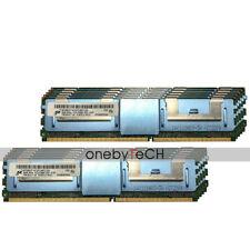 Micron 128GB 16x8GB 2Rx4 PC2-5300F DDR2-667 240pin Fully Buffered FBDIMM Memory