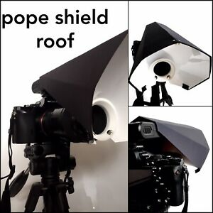POPE SHIELD ROOF Black Model Covering For Universal Camera Macro Flash Diffuser